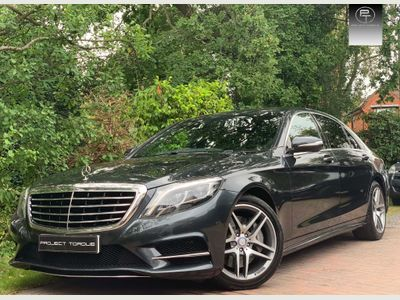 Mercedes-Benz S Class Saloon 3.5 S400e AMG Line L (Executive) 7G-Tronic Plus 4dr
