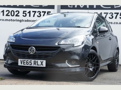 Vauxhall Corsa Hatchback 1.4i Turbo Black Edition (s/s) 3dr