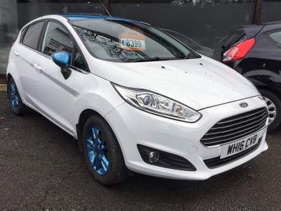 Ford Fiesta Hatchback 1.25 Zetec White Edition 5dr