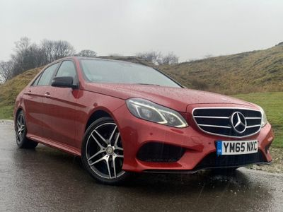 Mercedes-Benz E Class Saloon 2.1 E220 CDI BlueTEC AMG Night Edition (Premium Plus) 7G-Tronic Plus 4dr