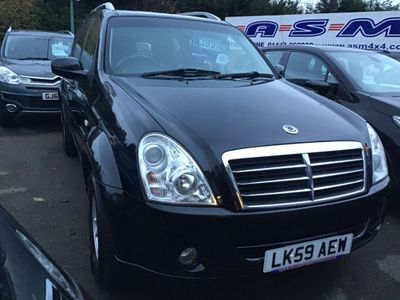 SsangYong Rexton SUV 2.7 TD SE 4x4 5dr