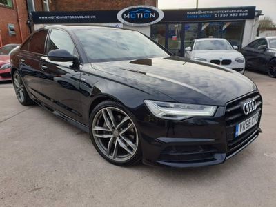 Audi A6 Saloon Saloon 3.0 TDI V6 Black Edition S Tronic (s/s) 4dr