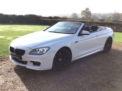 BMW 6 Series Convertible 3.0 640d M Sport 2dr