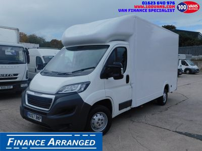 Peugeot Boxer Luton SOLD SOLD SOLD
