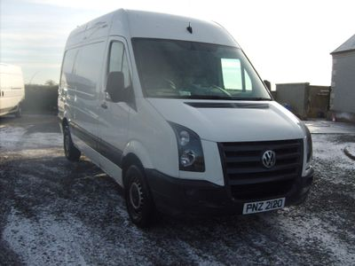 Volkswagen Crafter Panel Van 2.5 BlueTDI CR35 High Roof Van 4dr (MWB)