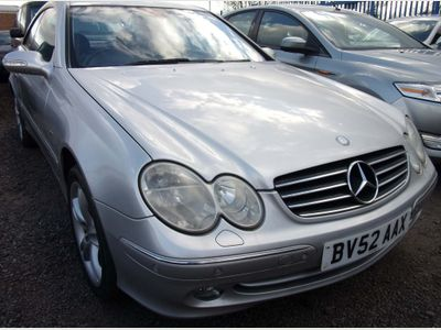 Mercedes-Benz CLK Coupe 5.0 CLK500 Avantgarde 2dr