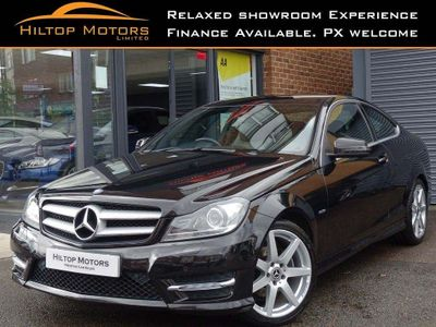 Mercedes-Benz C Class Coupe 2.1 C220 CDI BlueEFFICIENCY AMG Sport 2dr