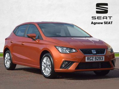 SEAT Ibiza Hatchback 1.0 TSI SE Technology (s/s) 5dr GPF