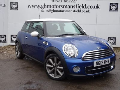 MINI Hatch Hatchback 1.6 Cooper D London 2012 3dr
