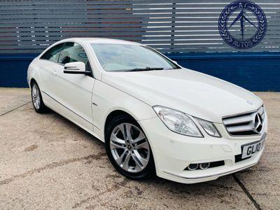 Mercedes-Benz E Class Coupe 2.1 E250 CDI BlueEFFICIENCY SE 2dr