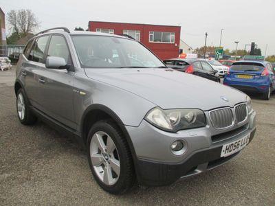 BMW X3 SUV 2.5 25si SE 5dr