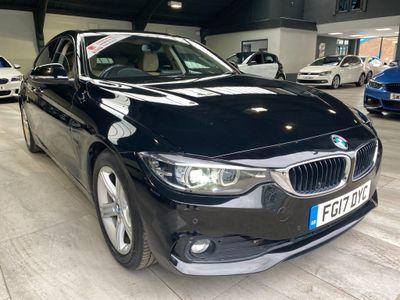 BMW 4 Series Gran Coupe Hatchback 2.0 420d SE Gran Coupe Auto (s/s) 5dr