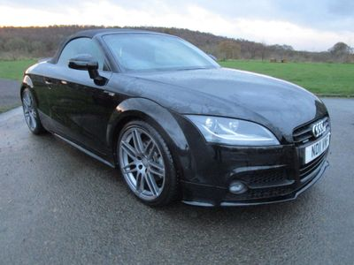 Audi TT Convertible 2.0 TD Black Edition Roadster 2dr