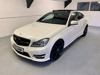 Mercedes-Benz C Class Coupe 3.5 C350 AMG Sport 7G-Tronic Plus 2dr