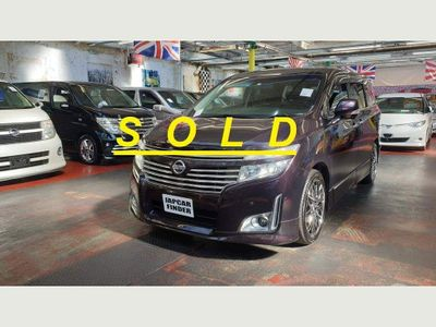 Nissan Elgrand MPV E52 Highway Star Recliners 360 view