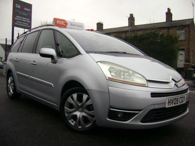 Citroen Grand C4 Picasso MPV 1.6 THP 16v Exclusive 5dr