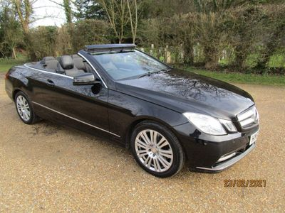 Mercedes-Benz E Class Convertible 2.1 E250 CDI BlueEFFICIENCY SE Cabriolet G-Tronic 2dr