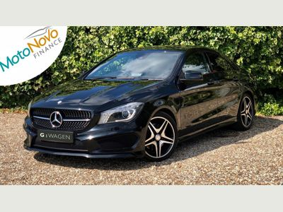 Mercedes-Benz CLA Class Coupe 2.1 CLA200 CDI AMG Sport Coupe 4dr Diesel 7G-DCT (117 g/km, 175 bhp)