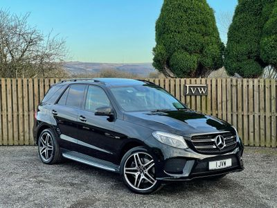 Mercedes-Benz GLE Class SUV 3.0 GLE43 V6 AMG (Premium Plus) G-Tronic 4MATIC (s/s) 5dr