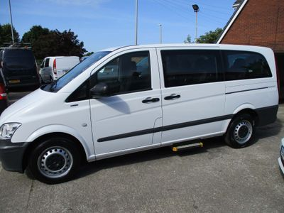Mercedes-Benz Vito Other 2.1 113CDI BlueEFFICIENCY Traveliner Long Bus 5dr (EU5, 8 Seats)