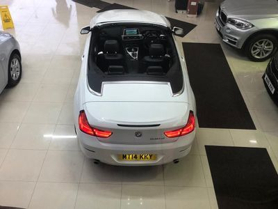BMW 6 Series Convertible 3.0 640d SE 2dr