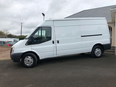 Ford Transit Panel Van Long wheelbase semi high roof FWD