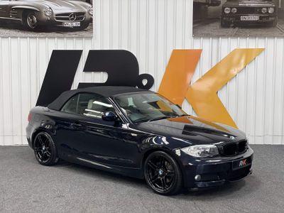 BMW 1 Series Convertible 2.0 120d Sport Plus Edition 2dr
