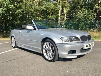 BMW 3 Series Convertible 2.0 318Ci 318 M Sport 2dr