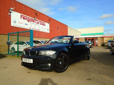 BMW 1 Series Convertible 2.0 120d M Sport 2dr