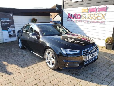 Audi A4 Saloon 2.0 TDI 40 S line S Tronic quattro (s/s) 4dr