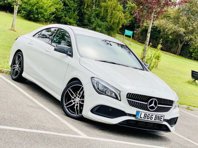Mercedes-Benz CLA Class Coupe 1.6 CLA180 AMG Line 7G-DCT (s/s) 4dr
