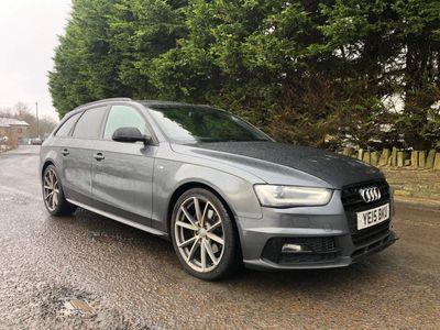 Audi A4 Avant Estate 1.8 TFSI Black Edition Plus Avant 5dr