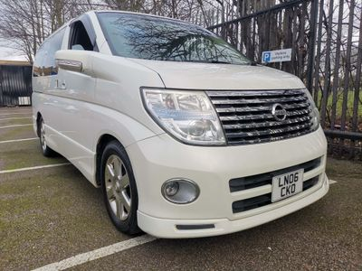 Nissan Elgrand MPV AUTOTECH RIDER 2.5 8 SEATER LEATHER