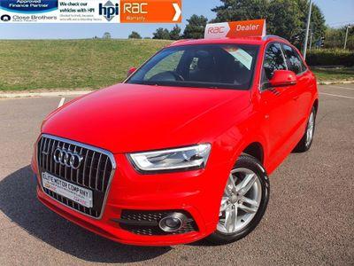 Audi Q3 SUV 2.0 TFSI S line quattro 5dr