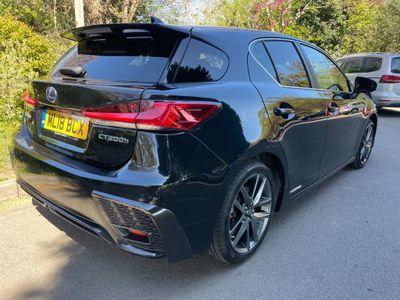 Lexus CT 200h Hatchback 1.8 200h F Sport CVT (s/s) 5dr