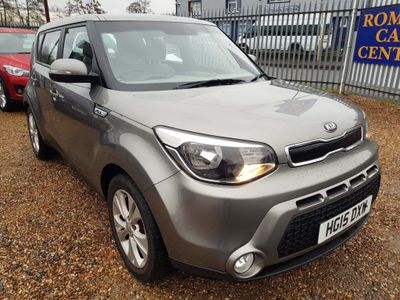 Kia Soul Hatchback 1.6 CRDi Connect 5dr