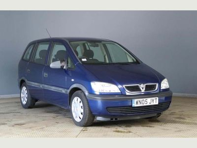 Vauxhall Zafira MPV 1.8 i 16v Life 5dr