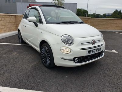 Fiat 500C Convertible 1.2 8V ECO Lounge (s/s) 2dr