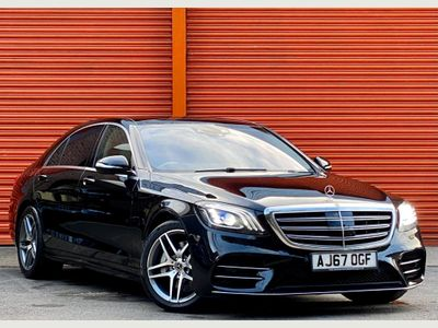 Mercedes-Benz S Class Saloon 3.0 S500L MHEV AMG Line (Executive, Premium Plus) G-Tronic+ 4MATIC (s/s) 4dr