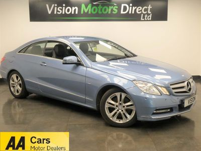 Mercedes-Benz E Class Coupe 3.5 E350 BlueEFFICIENCY SE Edition 125 7G-Tronic Plus (s/s) 2dr