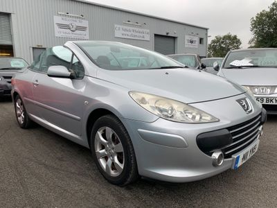 Peugeot 307 CC Convertible 2.0 16v S 2dr