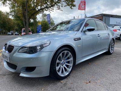 BMW M5 Saloon 5.0 V10 SMG 4dr