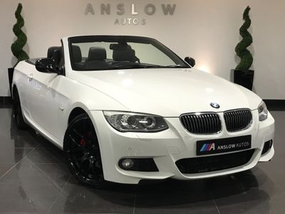 BMW 3 Series Convertible 3.0 330d Sport Plus Edition Auto 2dr