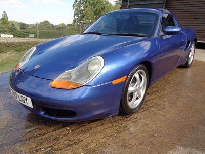 Porsche Boxster Convertible 2.5 986 Tiptronic S 2dr