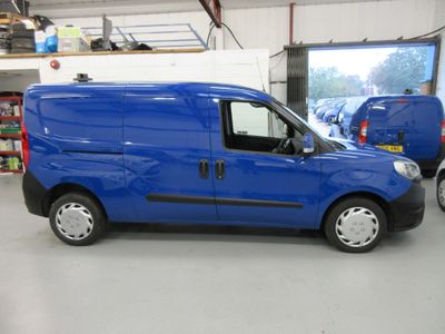 Fiat Doblo Panel Van 1.3 MultiJetII Maxi SX L2 H1 EU5 (s/s) 6dr