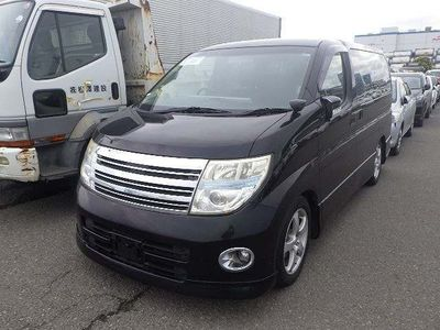 Nissan Elgrand MPV 4WD HIGHWAY STAR BLACK LEATHER LIMITED