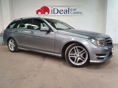 MERCEDES-BENZ C CLASS Estate 2.1 C220 CDI AMG Sport Edition (Premium) 7G-Tronic Plus 5dr