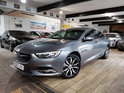 Vauxhall Insignia Hatchback 1.6 Turbo D BlueInjection Elite Nav Grand Sport (s/s) 5dr