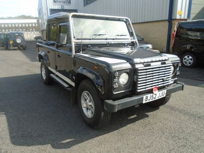 LAND ROVER DEFENDER 110 Pickup 2.5 TD5 Black Double Cab