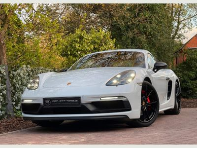Porsche 718 Cayman Coupe 2.5T GTS PDK (s/s) 2dr